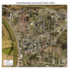 Central Business District and Historic District Overlay Map